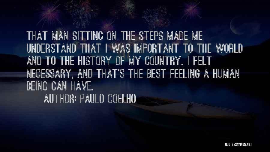 I Love My Man Quotes By Paulo Coelho
