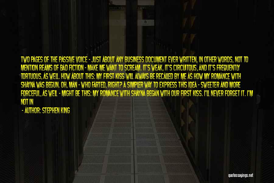 I Love My Man Quotes By Stephen King