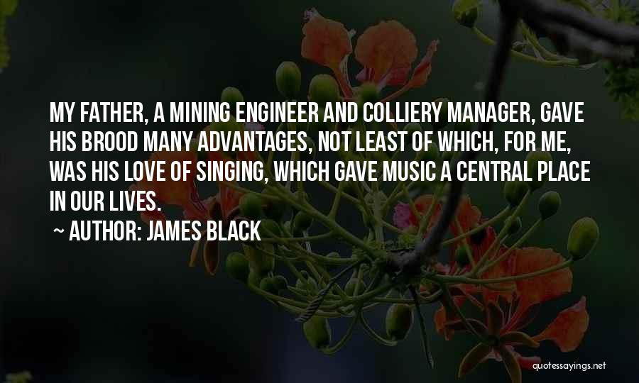 I Love My Manager Quotes By James Black