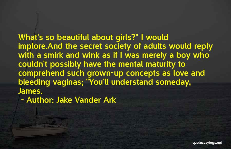 I Love My Puppy Quotes By Jake Vander Ark