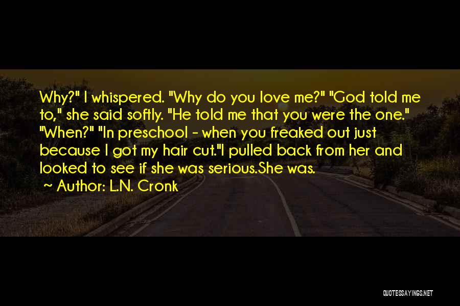 I Love My Puppy Quotes By L.N. Cronk