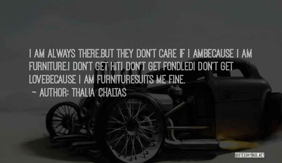 I Love Quotes By Thalia Chaltas