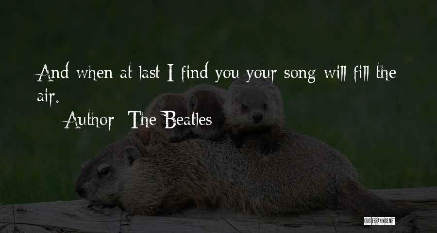 I Love Quotes By The Beatles