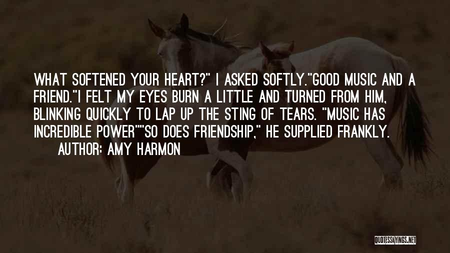 I Love Soul Music Quotes By Amy Harmon