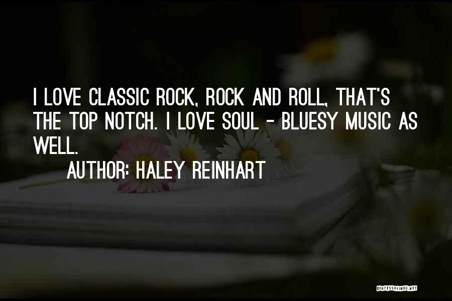 I Love Soul Music Quotes By Haley Reinhart