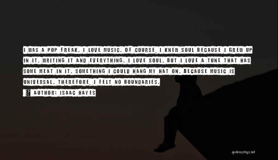 I Love Soul Music Quotes By Isaac Hayes