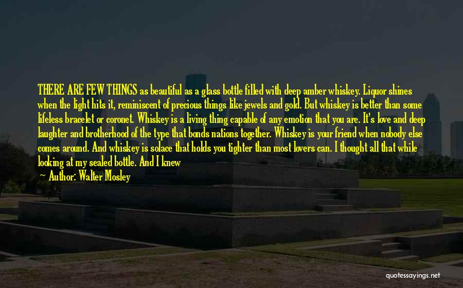 I Love The Way You Talk Quotes By Walter Mosley