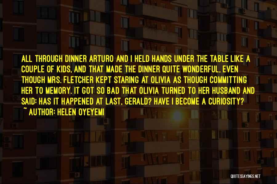 I Love White Boy Quotes By Helen Oyeyemi