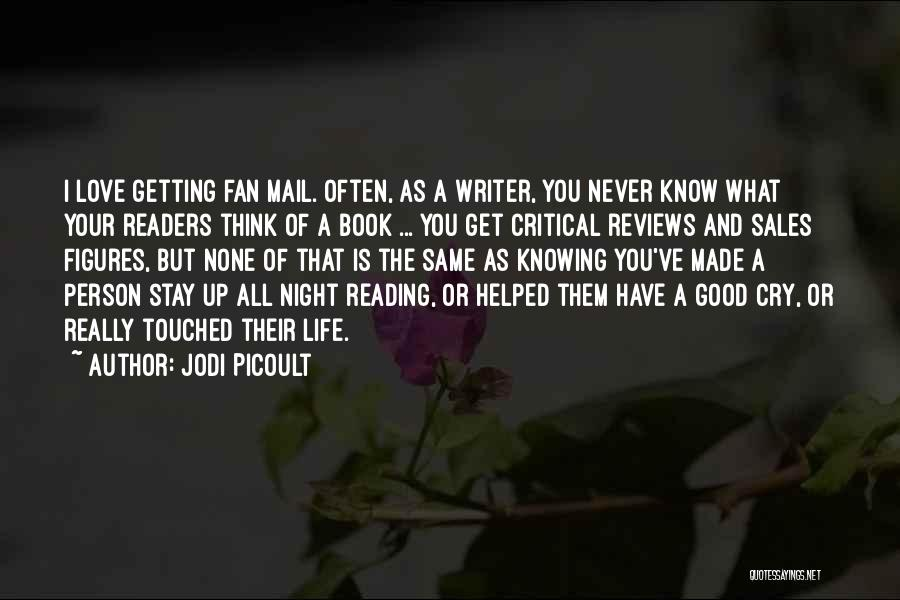 I Love You Book Quotes By Jodi Picoult