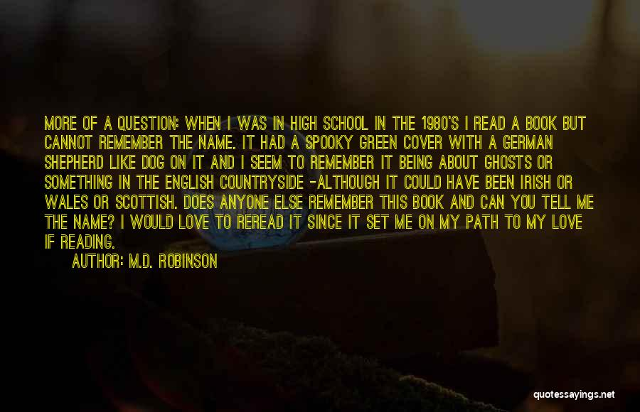 I Love You Book Quotes By M.D. Robinson