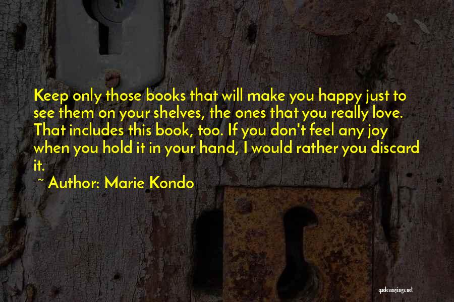 I Love You Book Quotes By Marie Kondo