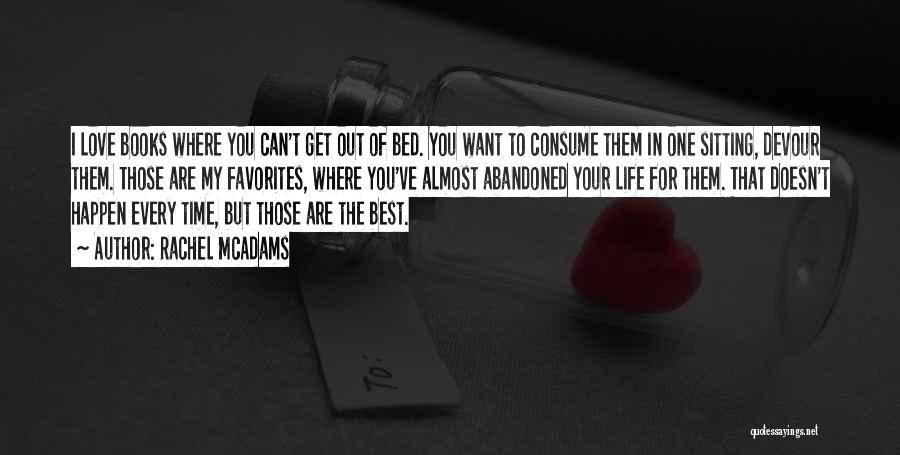 I Love You Book Quotes By Rachel McAdams