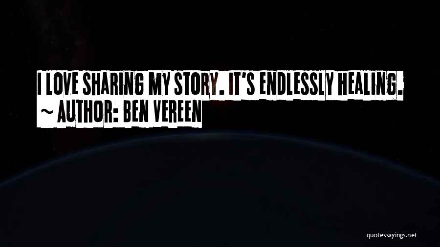 I Love You Endlessly Quotes By Ben Vereen