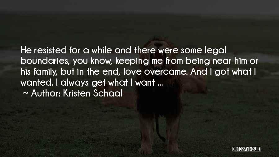 I Love You For Him Quotes By Kristen Schaal