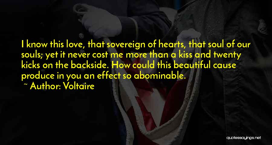 I Love You More Quotes By Voltaire