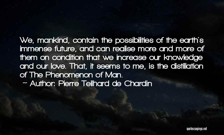 I Love You Without Condition Quotes By Pierre Teilhard De Chardin