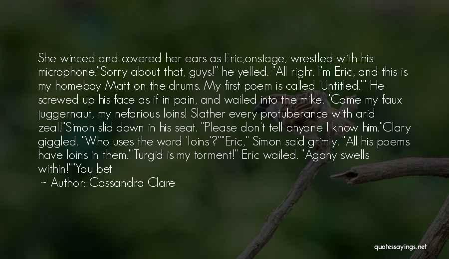 I M Screwed Quotes By Cassandra Clare