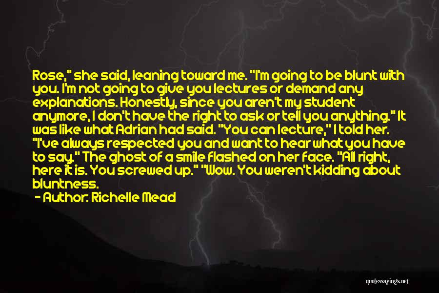 I M Screwed Quotes By Richelle Mead