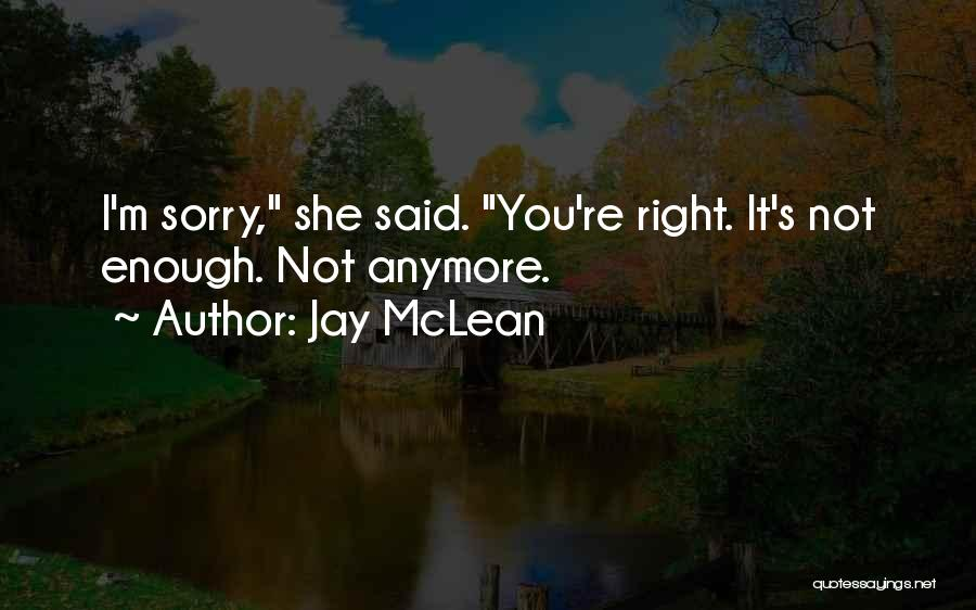 I M Sorry Quotes By Jay McLean