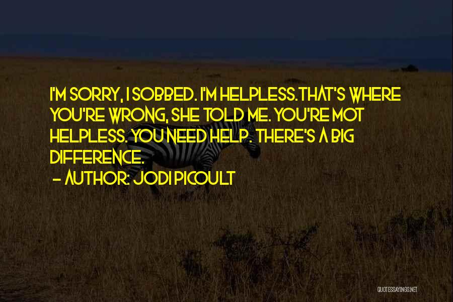 I M Sorry Quotes By Jodi Picoult