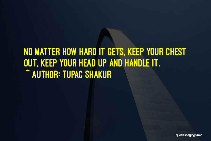I May Be Hard To Handle Quotes By Tupac Shakur