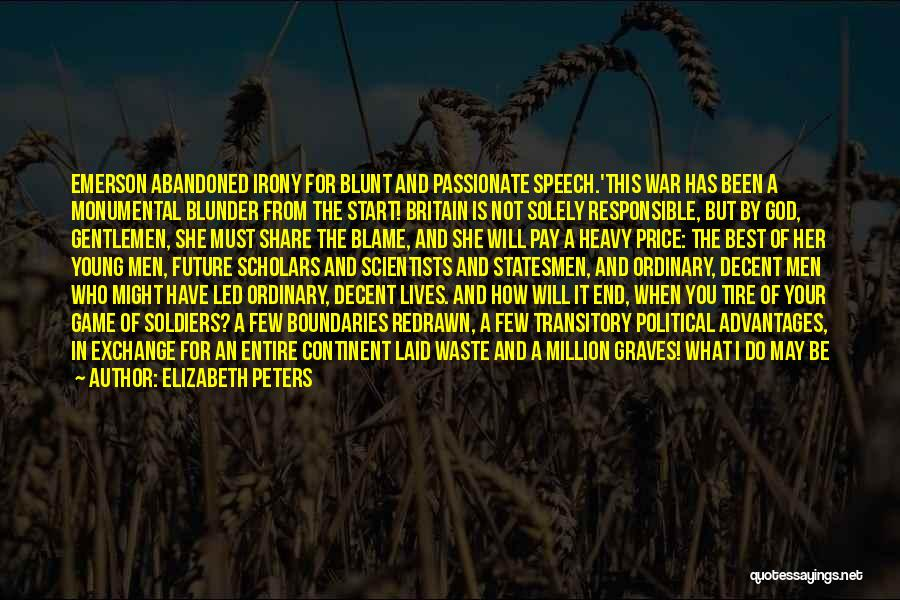 I May Be Young But Quotes By Elizabeth Peters