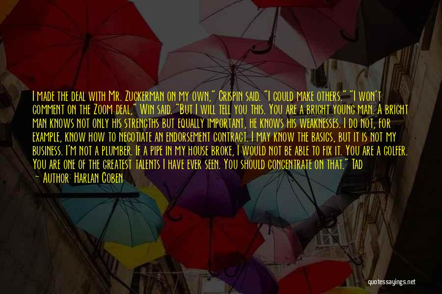 I May Be Young But Quotes By Harlan Coben