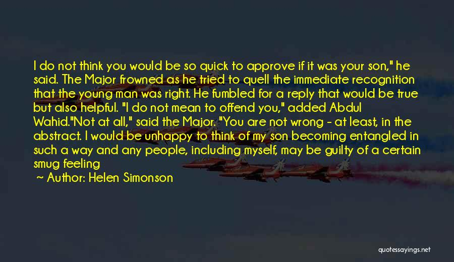 I May Be Young But Quotes By Helen Simonson