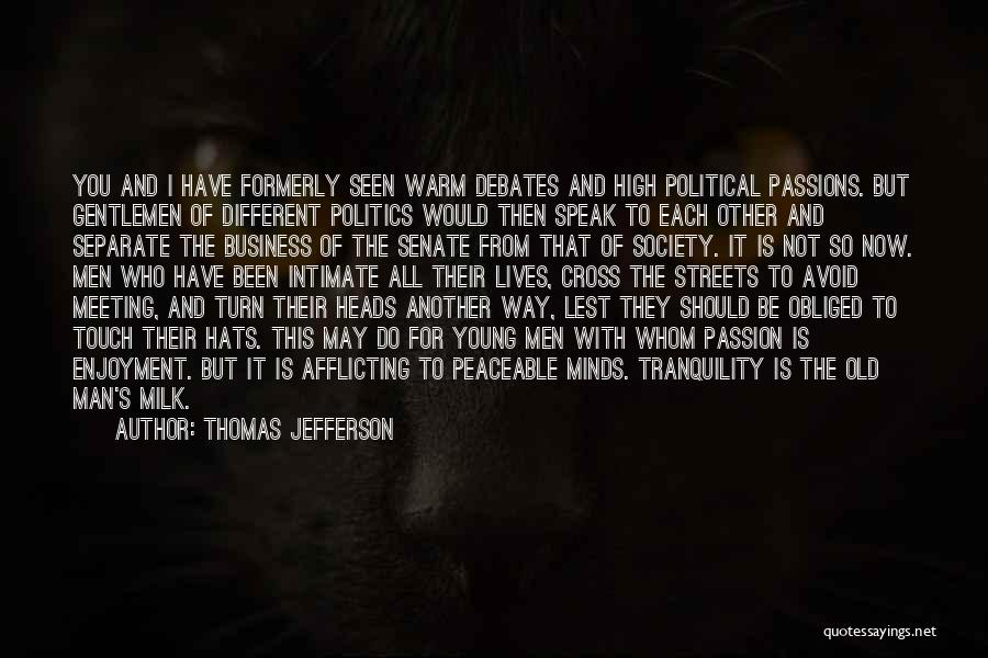 I May Be Young But Quotes By Thomas Jefferson