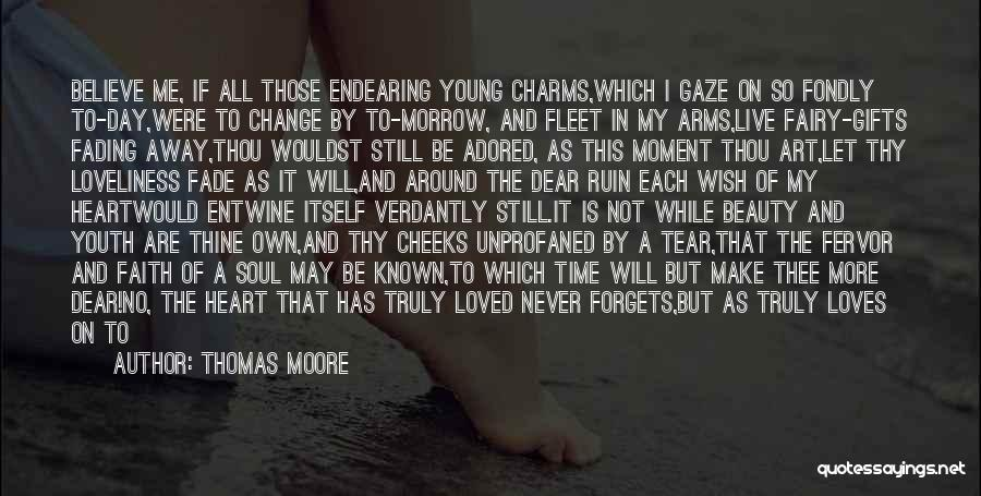 I May Be Young But Quotes By Thomas Moore