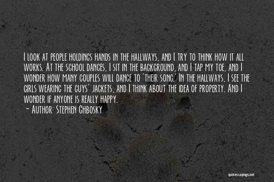 I May Look Happy But I'm Not Quotes By Stephen Chbosky