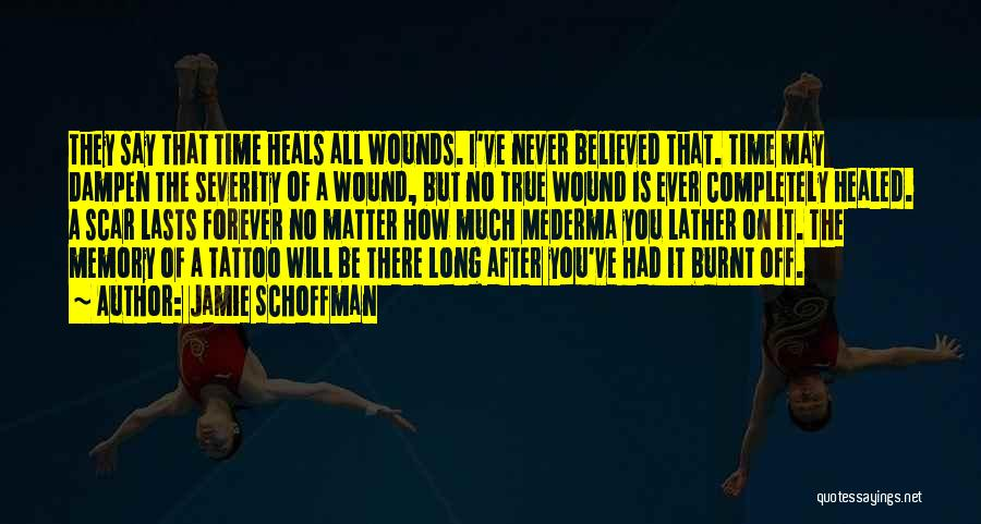 I May Not Say Much Quotes By Jamie Schoffman