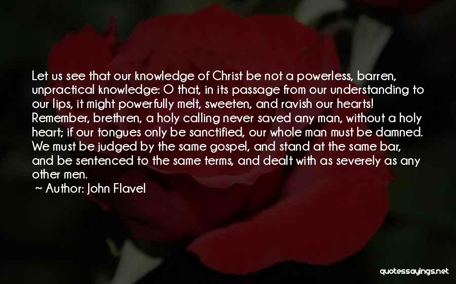 I Melt When I See You Quotes By John Flavel