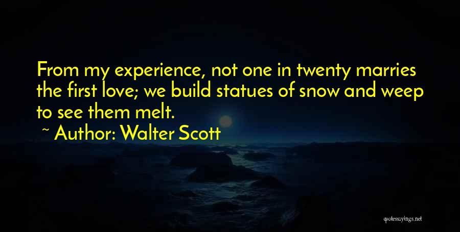 I Melt When I See You Quotes By Walter Scott