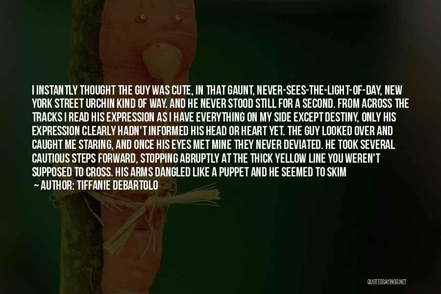 I Met A New Guy Quotes By Tiffanie DeBartolo