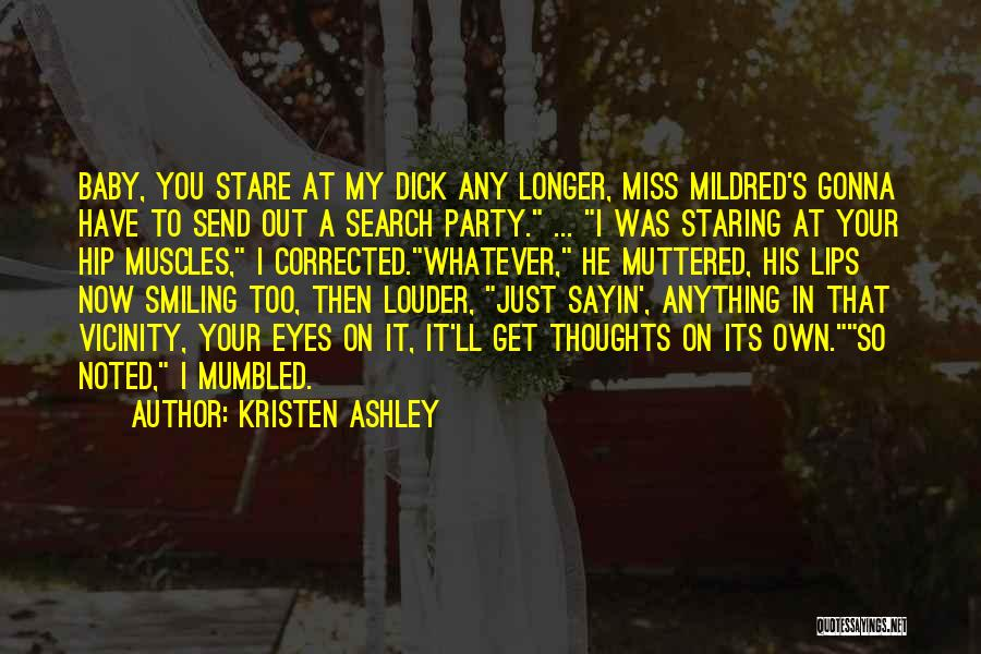 I Miss You Baby Quotes By Kristen Ashley