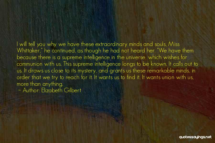 I Miss You Because Quotes By Elizabeth Gilbert