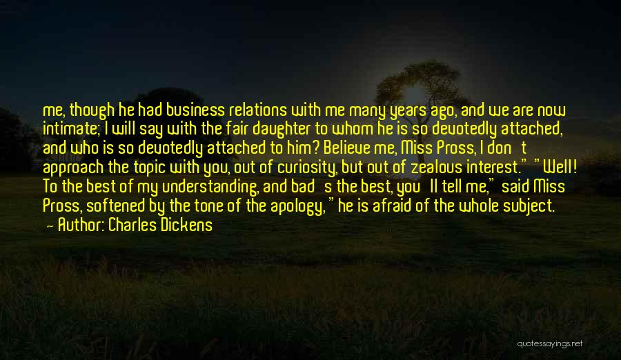 I Miss You So Quotes By Charles Dickens