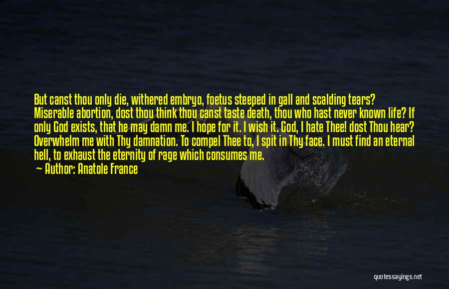 I Must Die Quotes By Anatole France