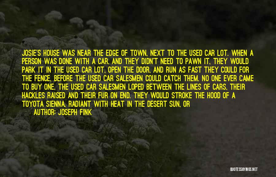I Need To Get Out Of This Town Quotes By Joseph Fink