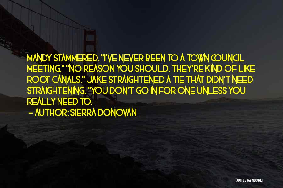 I Need To Get Out Of This Town Quotes By Sierra Donovan