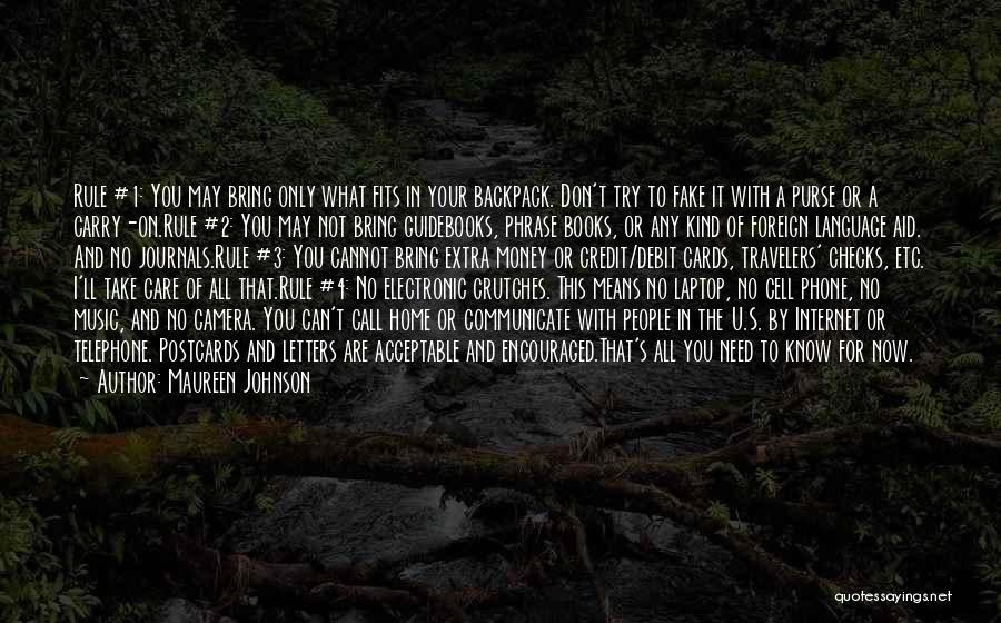 I Need U Quotes By Maureen Johnson