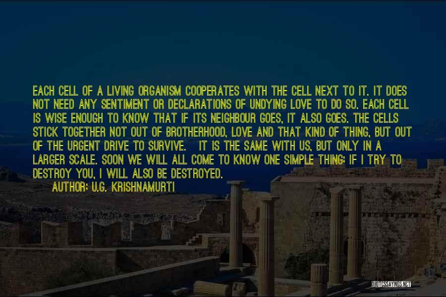 I Need U Quotes By U.G. Krishnamurti