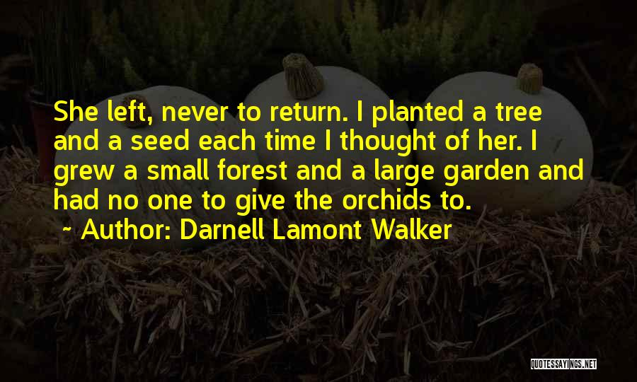I Never Thought Love Quotes By Darnell Lamont Walker