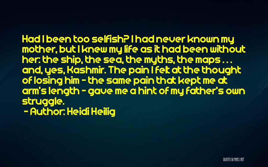 I Never Thought That Quotes By Heidi Heilig