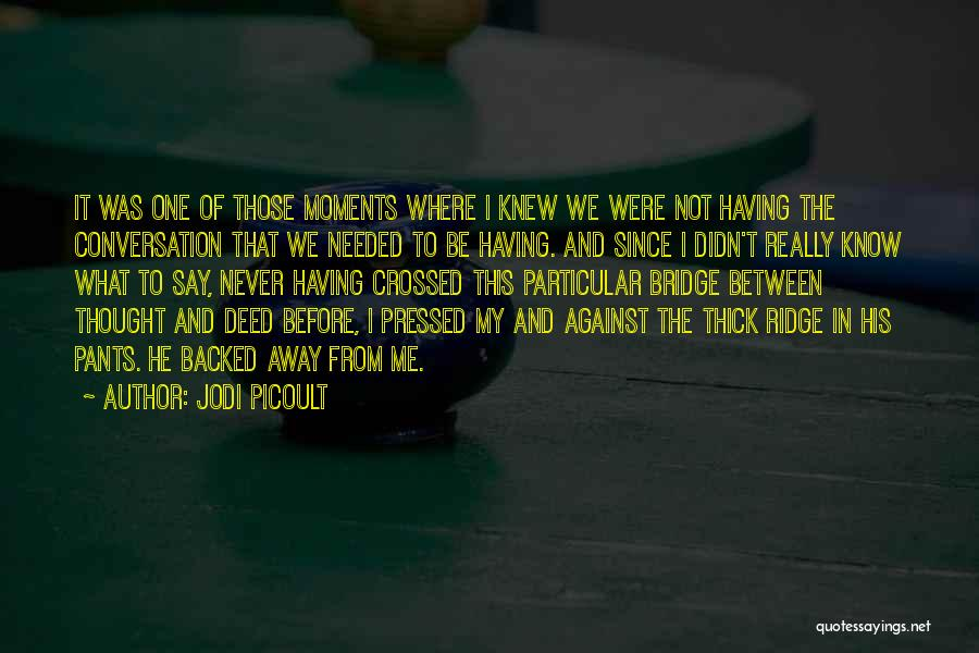 I Never Thought That Quotes By Jodi Picoult