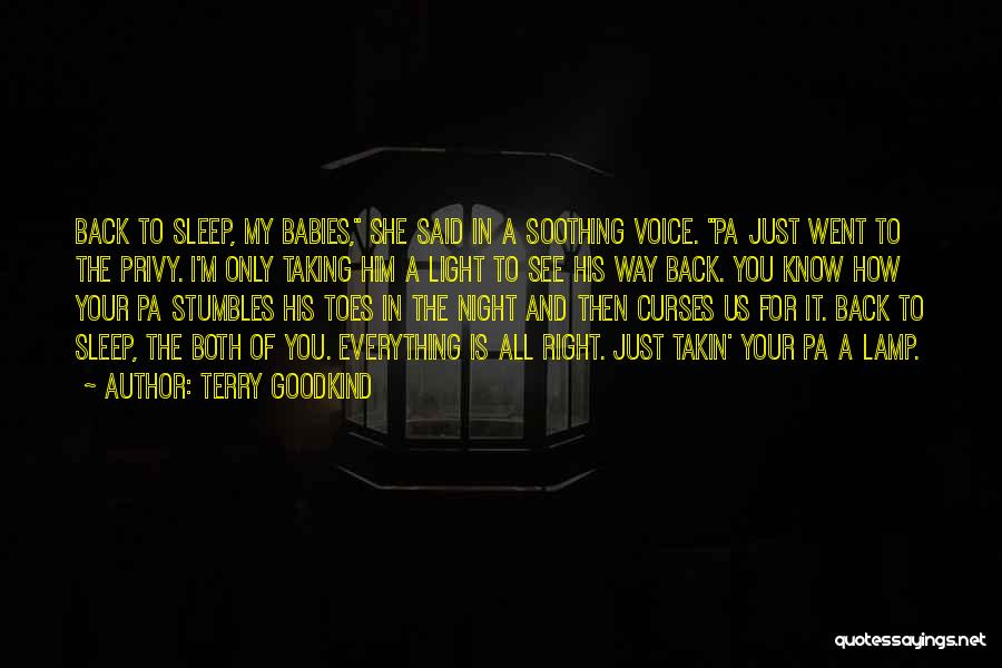 I Only See You Quotes By Terry Goodkind
