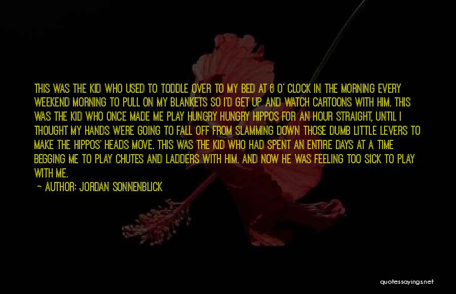 I Play Dumb Quotes By Jordan Sonnenblick