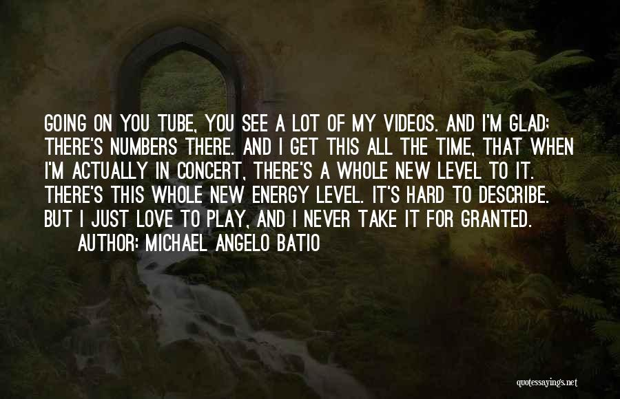 I Play Hard To Get Quotes By Michael Angelo Batio
