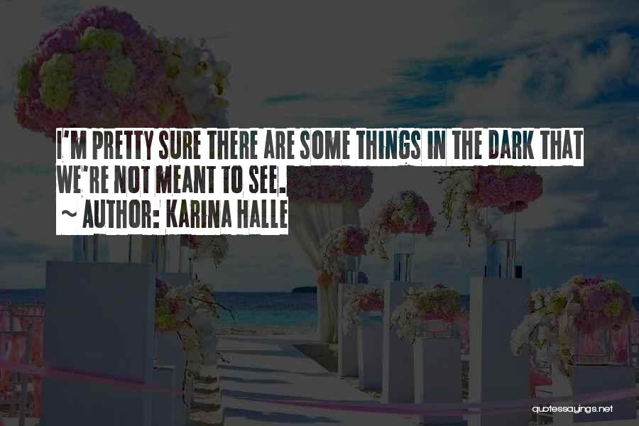 I Pretty Sure Quotes By Karina Halle